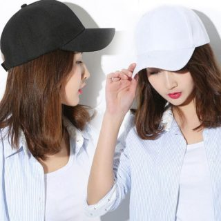 Plain Baseball Cap Japanese Simple Hat Pure Color Unisex All-match Sunshade Sports Cap High Quality Outdoor Cap Summer New 2021